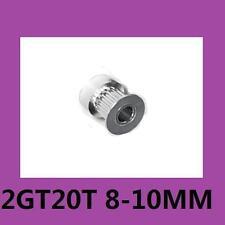 20T 8mm Bore 10mm Width GT2 Timing Belt Alu Drive Pulley For DIY 3D Printer