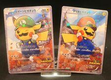 """Pokémon Super Mario Pikachu Promo Custom Card """"ORICA"""" READ DESCRIPTION"""