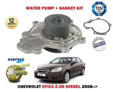 FOR CHEVROLET EPICA 2.0D DIESEL 2008->NEW WATER PUMP WITH GASKET KIT