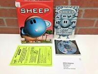 Sheep Lost (PC) Big Box Game Puzzle Strategy Complete With Manual Empire