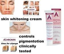 ACHROMIN Skin whitening face & body cream Anti dark age spots freckle sun damage