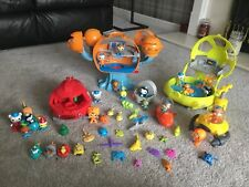 Octonauts Exploration Octopod large playset and figures Bundle SEE PICTURES!