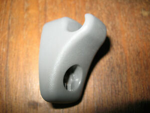 1999-2003 Nissan Pathfinder Gray OEM Sun Visor Clip (1) with OEM Screw (1)