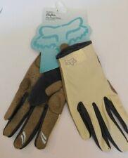 Fox Racing Reflex Women's Full Finger Gel Gloves Size Large Brand New