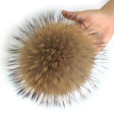 """6.3"""" Supper Big Fox Fur Pom Pom Ball Car Keychain / Bag Purse Charm Accessory"""