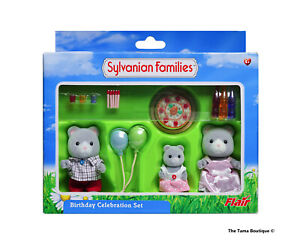 Sylvanian Families Calico Critters Birthday Celebration Set