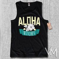 Tank Top - ALOHA BITCHES - Hawaii Surfer surf Party Funshirt Herren S M L XL XXL
