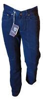 Jeans Pantalone Uomo 5 Tasche Casual Gamba Dritta Blu Scuro COTTON STAR Tag 46