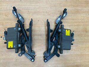 BMW 530D F10 F11 10-16 PAIR BONNET HINGE ACTUATORS 7191049 7191050