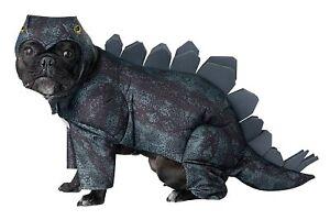 Stegosaurus Dinosaur Animal Cute Fancy Dress Up Halloween Pet Dog Cat Costume