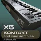 KORG X5 SAMPLES for KONTAKT 100 NKI + 1212 WAV 1.5GB 24BIT MAC PC FL DOWNLOAD