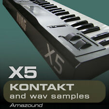 KORG X5 SAMPLES for KONTAKT 100 NKI + 1212 WAV 1.5GB 24BIT MAC PC MPC FL LOGIC