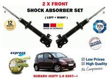 per SUBARU JUSTY 1.0 2007->2x Ant Sx + DESTRO Ammortizzatore Set