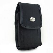 Rugged Case Belt Clip Holster Canvas Cover Pouch Carry P1Z for Cell Phones