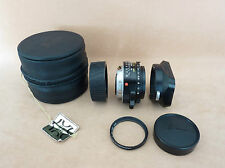 LEICA MINT SUMMICRON M 35mm/2 REF 11310 WITH LENS HOOD, UV FILTER, CASE, CAPS