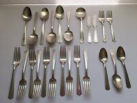 Lot 1940 Avon Silverplate Flatware International Silver Silverware Spoons Forks