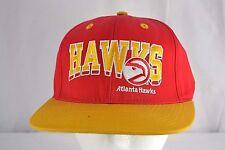 Atlanta Hawks Red/Gold Baseball Cap Snapback