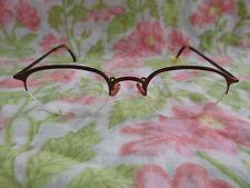 LA l.a. eyeworks Eyeglasses Eyeglass Sunglasses Frame ONLY Tortoise half rimless