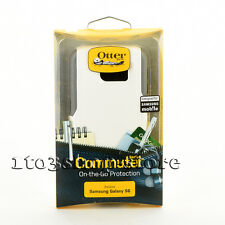 OtterBox Commuter Samsung Galaxy S6 2 Layers Hard Case Snap Cover White Gray