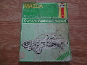1977-1983 Mazda GLC Haynes Repair Manual