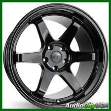 "18"" ESR SR07 WHEEL 5-114 et+35 glossy black fit RL RSX TL TLX"