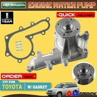 New Water Pump for Toyota Landcruiser 70 75 79 80 100 105 Series 1HZ 1HD 4.2L