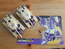Blitzwing Transformers lot vintage Played With Condition, Unbroken
