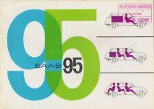 Saab 95 2-Stroke Estate 1963-64 UK Market Sales Brochure