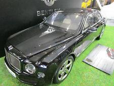 BENTLEY MULSANNE SPEED berline noir au 1/18 de KYOSHO 08910NX voiture miniature