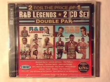 2 CD R&B LEGENDS PERCY SLEDGE JOHN LEE HOOKER PLATTERS CHECKERS SIGILLATO SEALED