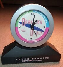 RARE FUN ! 1997 DOWNTOWN DISNEY GRAND OPENING SOUVENIR CLOCK WALT DISNEY WORLD !