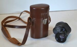 Carl Zeiss 8x30 B Monocular with Leather Case Excellent Condition One Owner