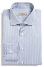 * NWT Canali Regular Fit Stripe Dress Shirt $295 NWT, XL 16.5