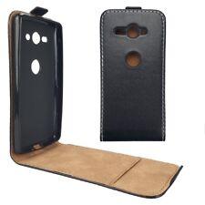 Sony Xperia XZ2 Compact Flip Case TPU Flexi Slim Fresh Klapp Etui Handy Tasche