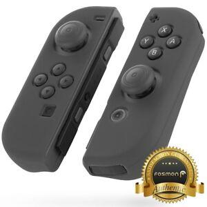 Fosmon Nintendo Switch Joy Con Anti Slip Case Comfort Palm Rest Thumb Grip Caps