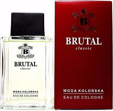MIRACULUM BRUTAL CLASSIC EAU DE COLOGNE SPLASH FOR MEN 3.4 Oz / 100 ml NEW ITEM!