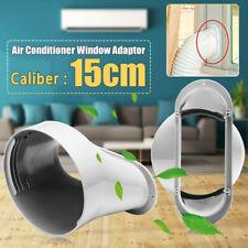 15cm Fenster Adapter PVC für Mobile Klimaanlagen Klimageräte Abluftschlauch NI