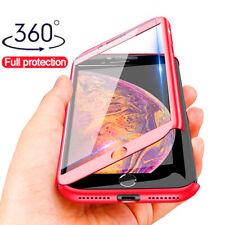 Coque Housse Etui Total 360 Pour iPhone 7/8/6S/XR/X/XS/MAX + Protection écran
