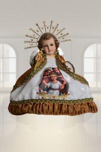 Ropon Sagrada Familia Oro, Traje de Niño Dios. Bebé Jesús Outfit