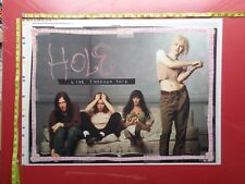 "HOLE, COURTNEY LOVE, Poster,23x31"",Very RARE Original,Record Company promo,proof"