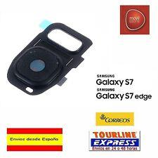 CUBIERTA LENTE CAMARA TRASERA COLOR NEGRO SAMSUNG GALAXY S7 G930 S7 EDGE G935