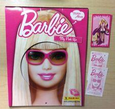 FIGURINE PANINI - BARBIE MY PINK LIFE 2009 - MANCOLISTE DI FIGURINE NUOVE E REC