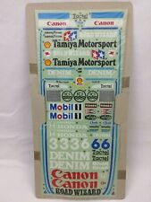 RC Tamiya Decal Road Wizard F1 58053 New 1986