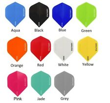 Victory Darts XS100 Dart Flights - Extra Strong - Solid Colours - 9 Colours