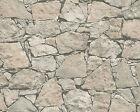 A.S. Creation 8050741 Tapete Steintapete Vliestapete Stein Mauer beige grau