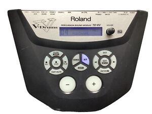 Roland TD-6V Percussion V-Drum Sound Module Original Power Supply Base Plate