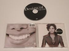 JANET JACKSON/DESIGN OF A DECADE(A&M 540 400 2) CD ALBUM
