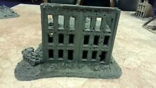 15mm JR Miniatures Stalingrad Destroyed Apartment Building OOP 4