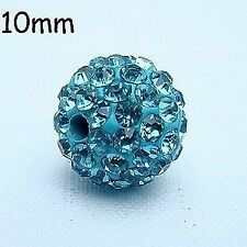 Turquoise Crystal Jewellery Making Beads