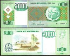 Angola - 2000 Kwanzas 2003 UNC